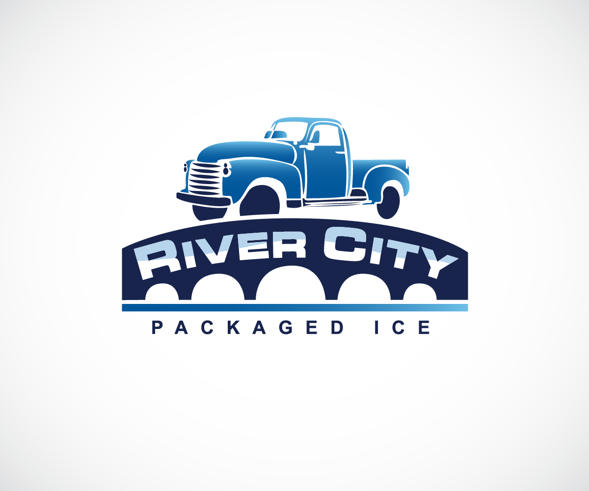 Modern, Colorful, Delivery Logo and Business Card Design for River ...