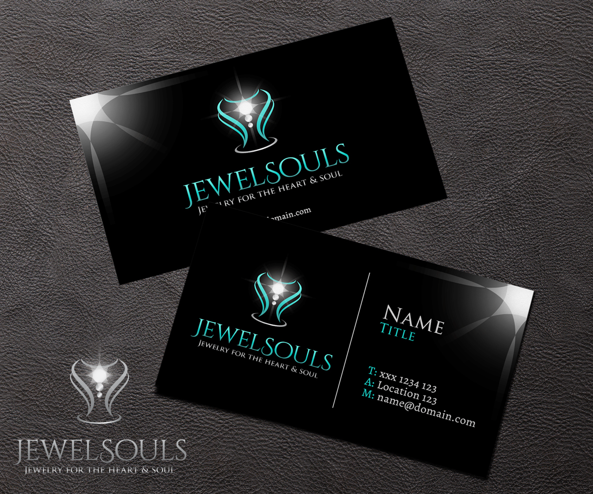 71 feminine logo and business card designs jewelry logo and logo and business card design by mpirs for jewelsouls design 5907866 reheart Gallery