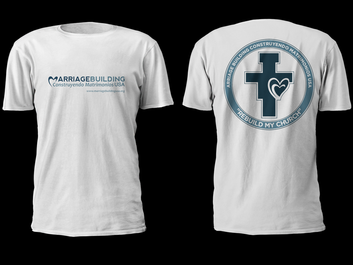 T Shirt Design For Marriagebuilding Usa By Cithuwill