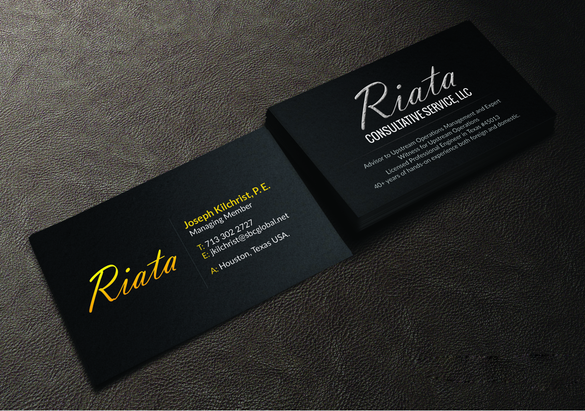 57 professional business card designs oil and gas business card business card design by creations box 2015 for this project design 6004868 reheart Choice Image