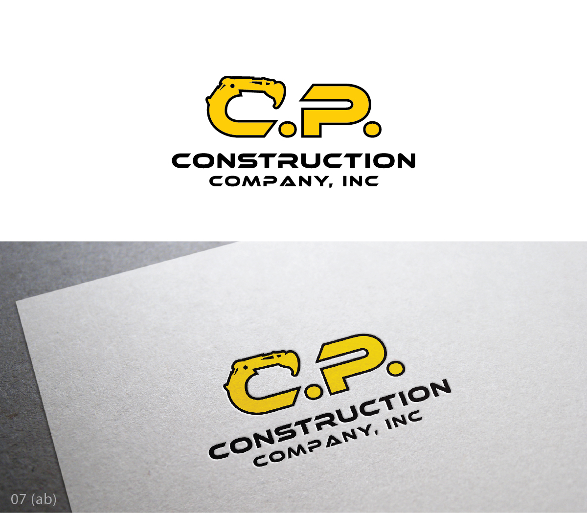 design de logo s rieux traditionnel utility pour c p construction company inc par esolbiz. Black Bedroom Furniture Sets. Home Design Ideas
