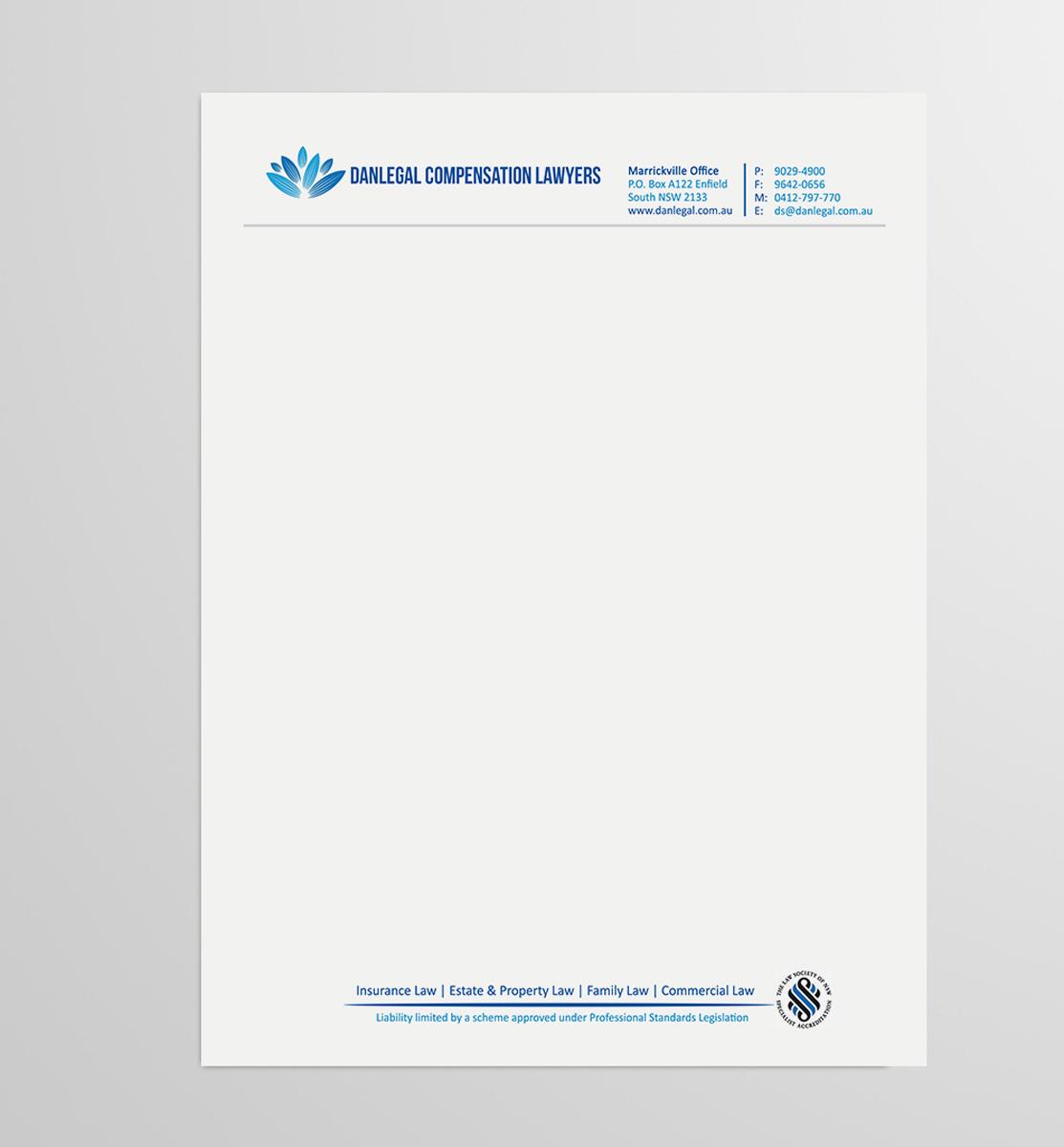 elegant letterhead design