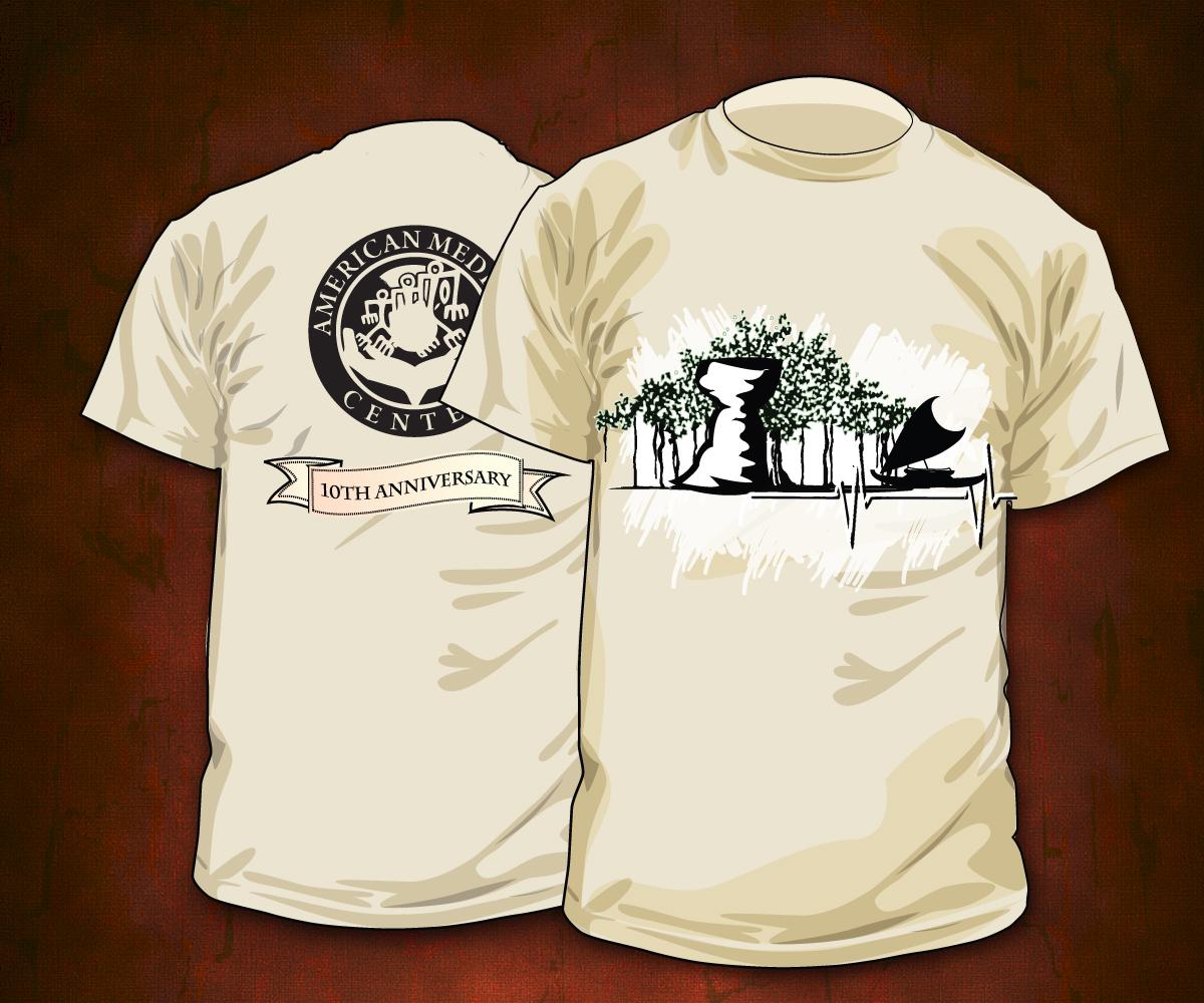 Personable elegant t shirt design design for american for Business t shirt design