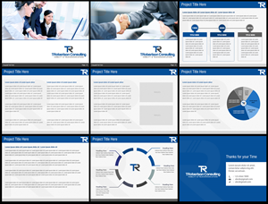 Professional Modern PowerPoint Design For Tina Robertson