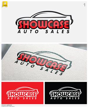 Showcase Auto Sales >> Bold Serious Logo Design For Yousef Anowia By Fsdmedia Design