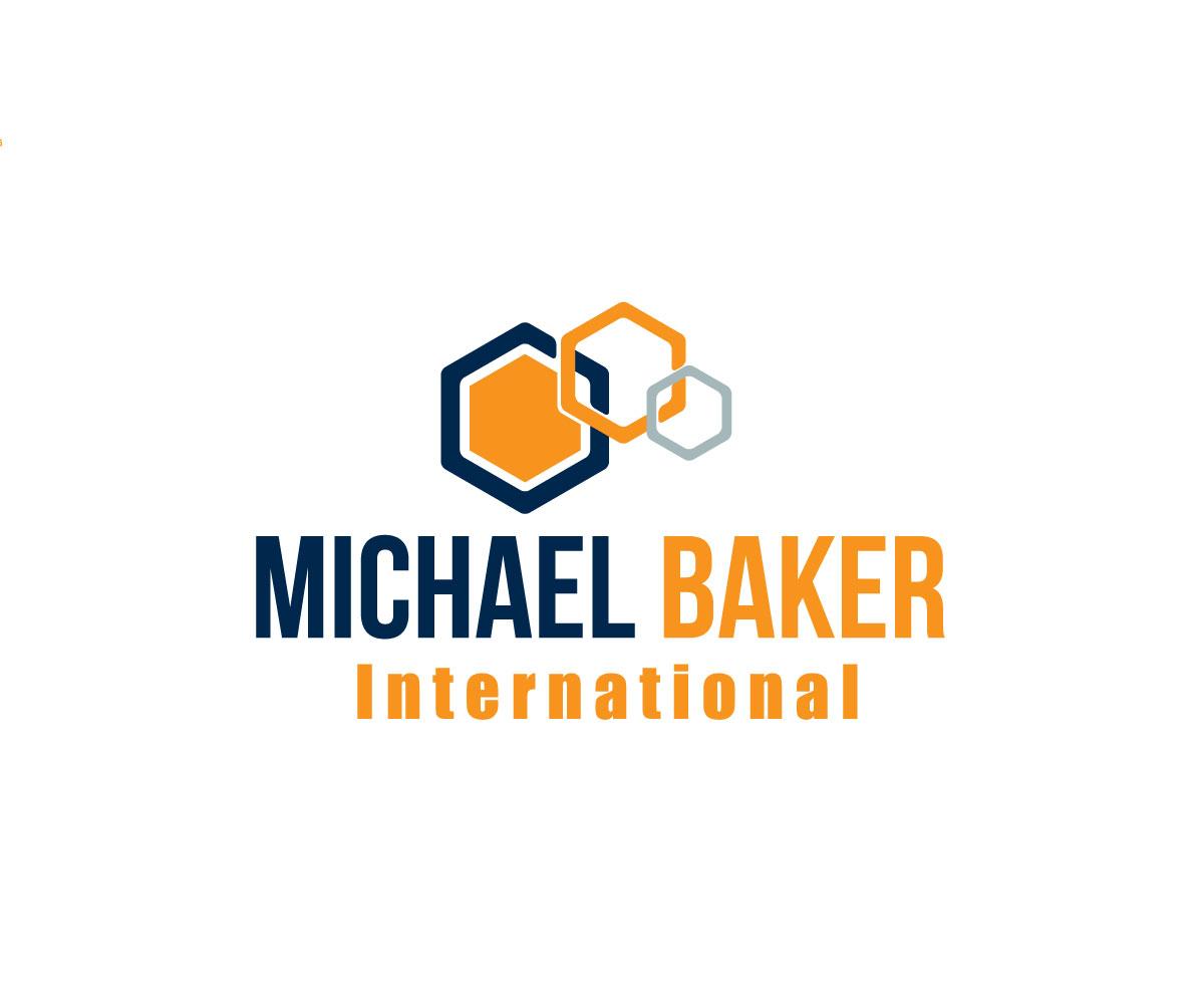 Modern ernst business logo design for michael baker for International design company