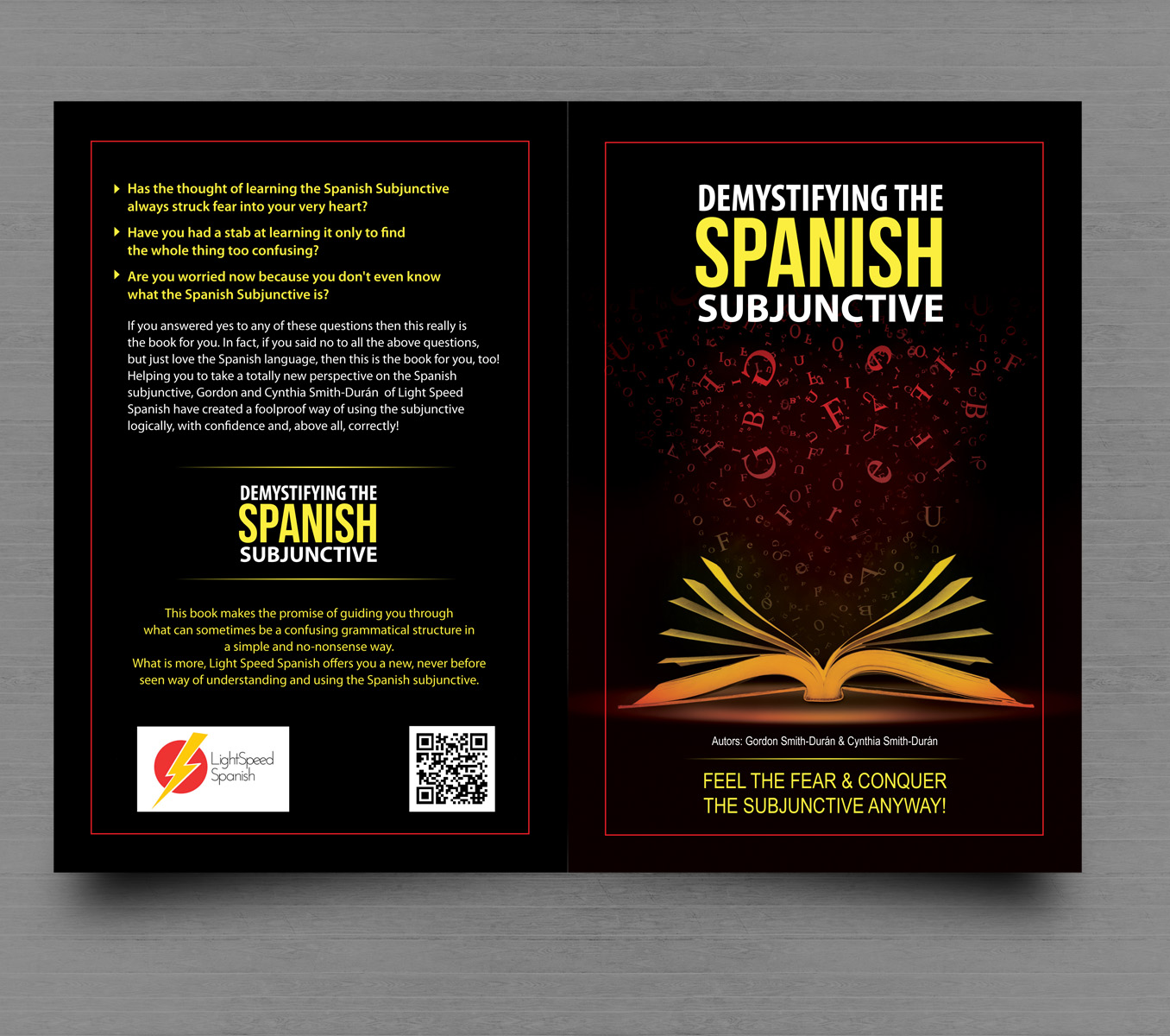 Book Cover Design By Uk For LightSpeed Spanish | Design #5871618