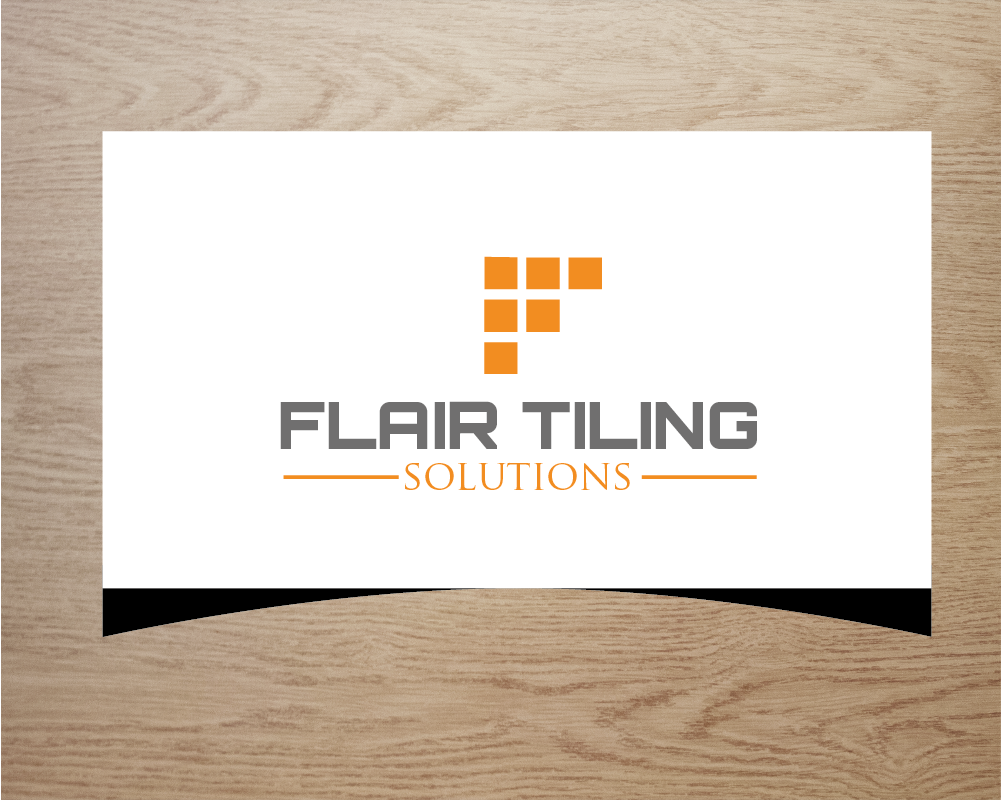 Captivating Logo Design For Flair Tiling Solutions By Zengen