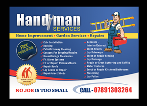 21 Elegant Playful Handyman Flyer Designs for a Handyman business ...