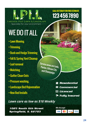 Colorful Professional Flyer Design Design For Lakeside