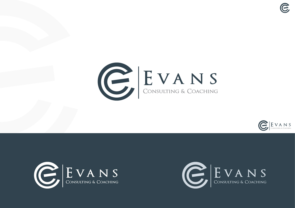 Logo Design By Rana Mak For Evans Consulting And Coaching Llc