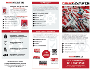 Brochure Design by Karen Gameiro - Legal Shred/MedXwaste Brochure