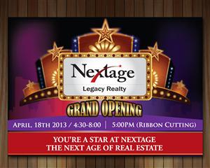 Invitation Design by smart - Grand Opening Flyer / Invite - Editable