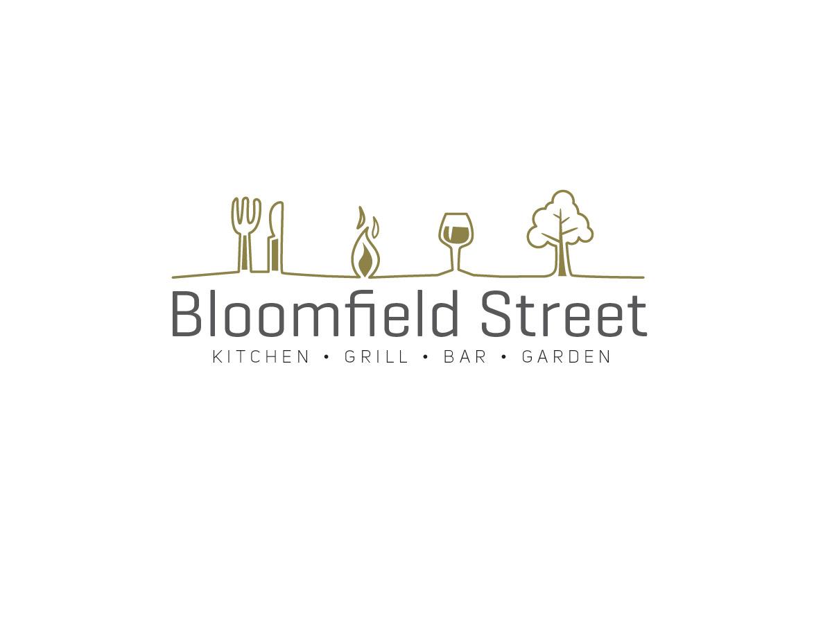 Elegant modern restaurant logo design for bloomfield