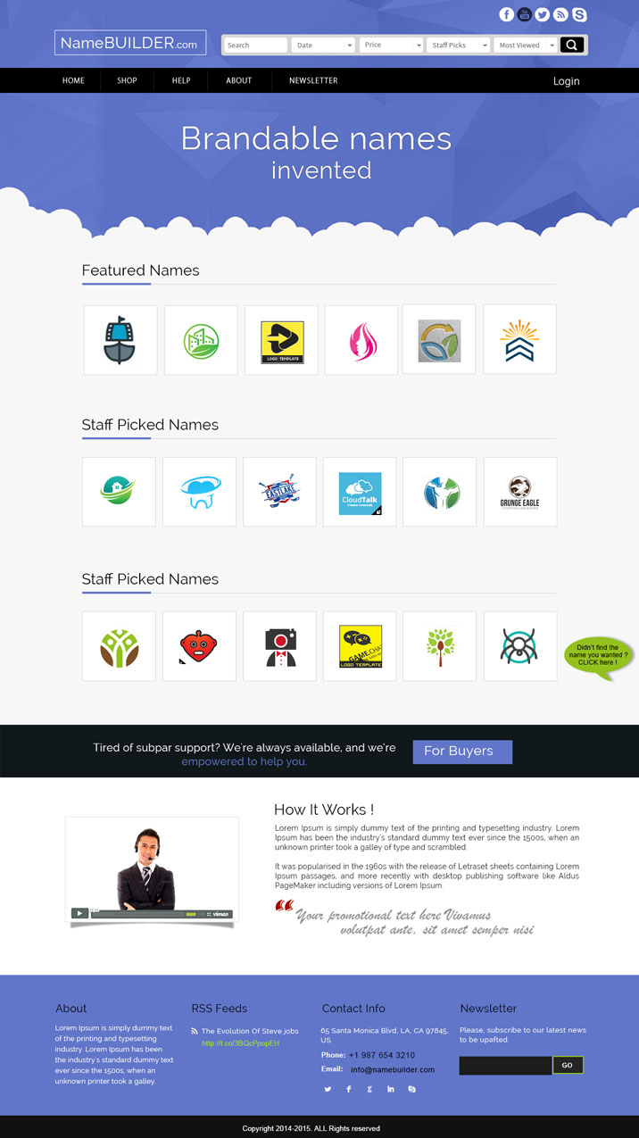 Playful, Modern, Business Web Design for Webcorp by