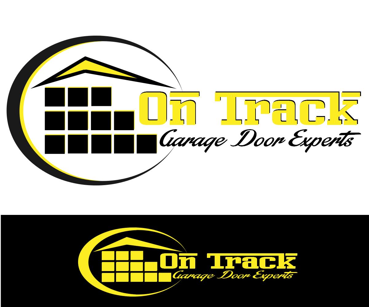 Logo Design By Denuka Vidumal For On Track Garage Door Experts | Design  #5876292