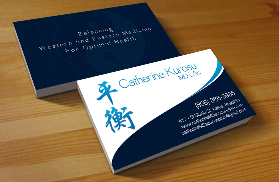 Medical Business Card Design for a Company by Hardcore Design ...