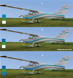 Graphic Design by MB design - Aircraft painting design