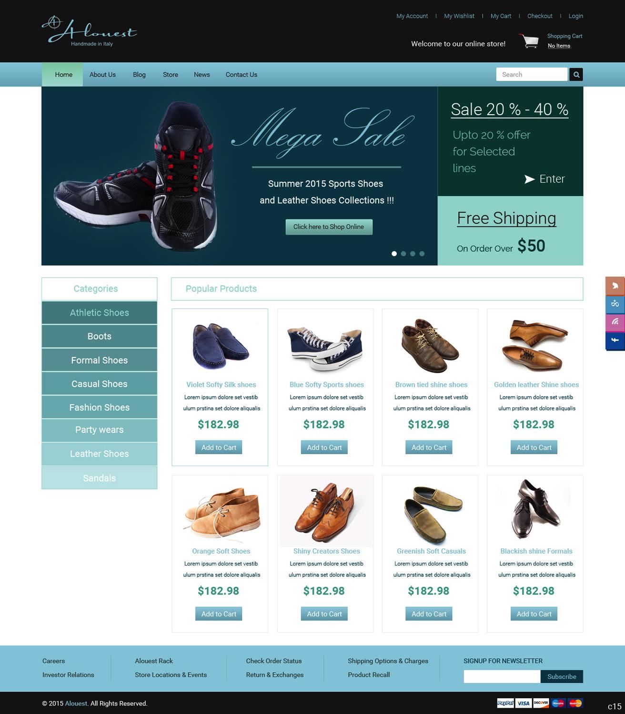 Online shoe shopping websites