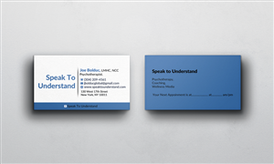 45 modern business card designs health business card design business card design by afhun for this project design 5871739 colourmoves