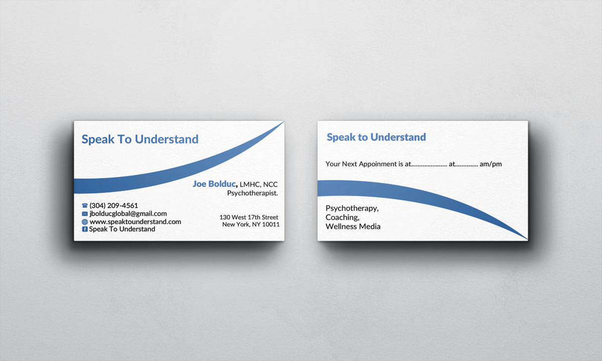 Modern, Serious, Health Business Card Design for a Company by AFHUN ...