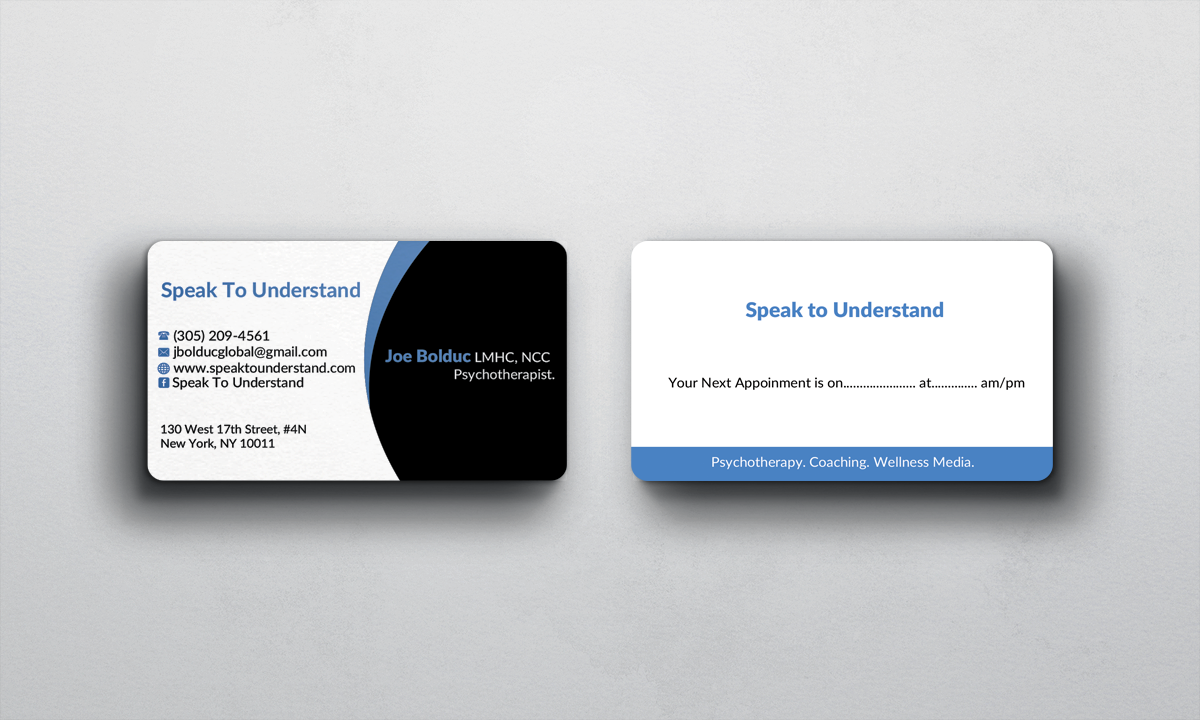 45 modern business card designs health business card design business card design by afhun for this project design 5884285 colourmoves