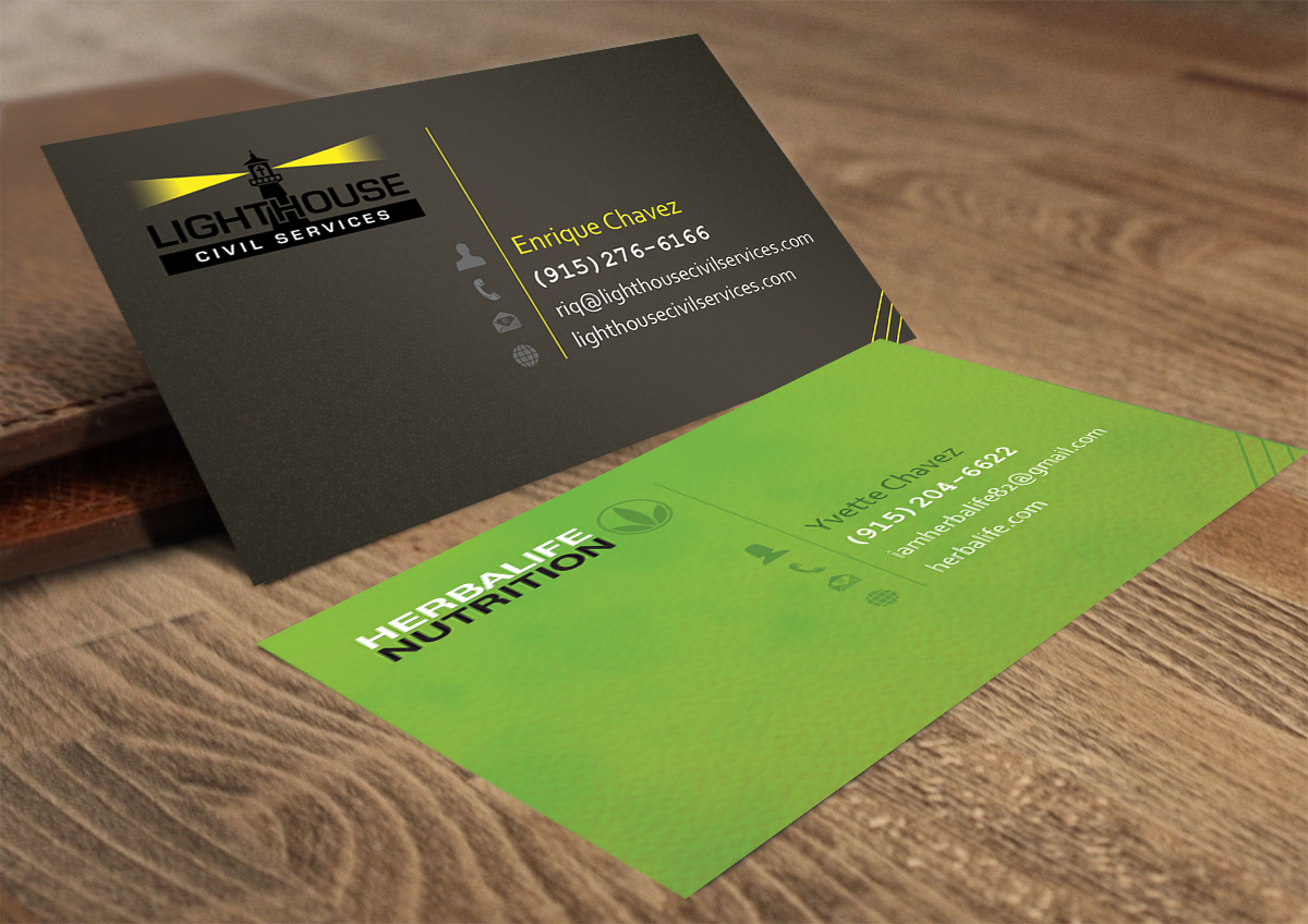 Modern, Bold Business Card Design for Yvette Chavez by Feel free ...