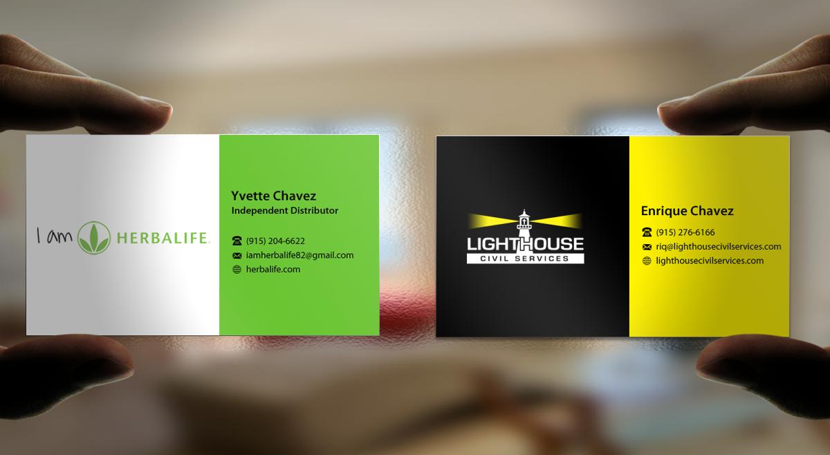 Modern, Bold Business Card Design for Yvette Chavez by ...