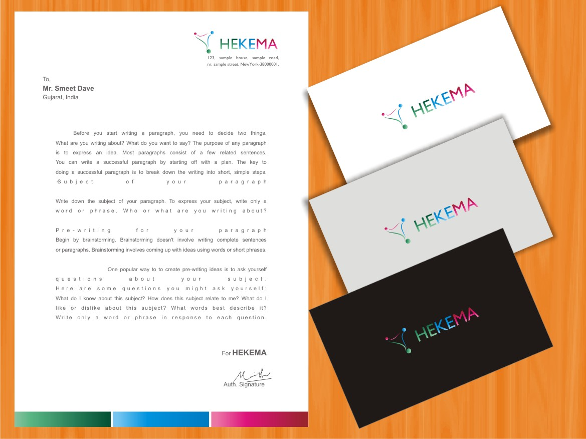Professional, Conservative, Business Logo Design for HEKEMA by