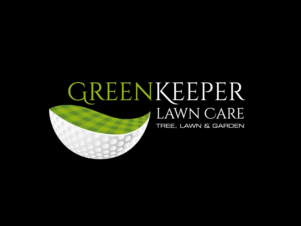 Modern bold logo design for greenkeeper lawn care by for Garden maintenance logo