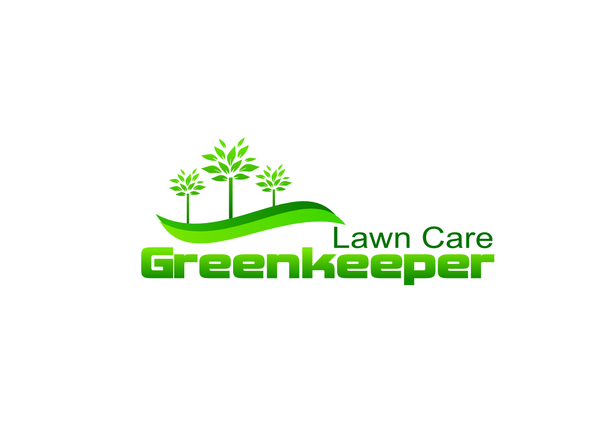 modern bold golf course logo design for greenkeeper lawn care by