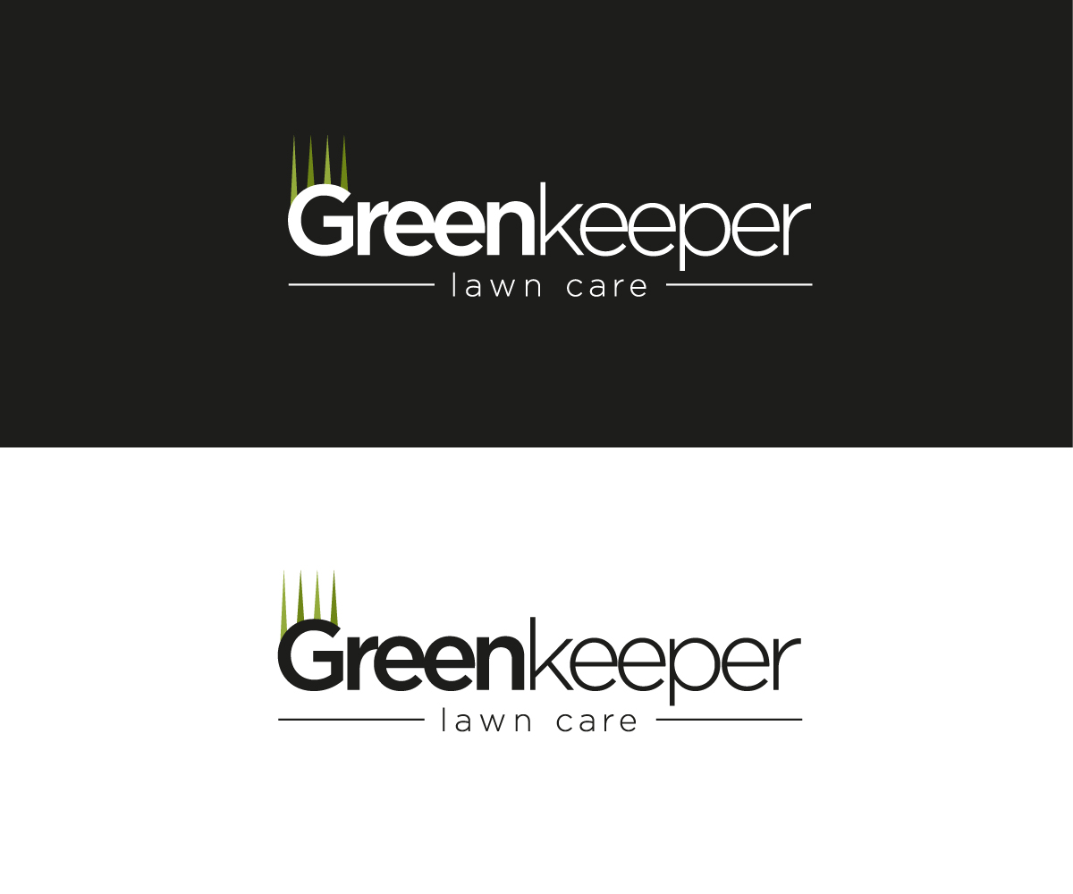 Modern bold golf course logo design for greenkeeper lawn for Lawn treatment companies