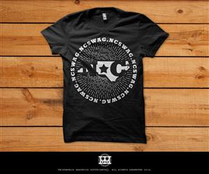 T-shirt Design by Thirdworld Graphics - NC Brand needs a T-Shirt design