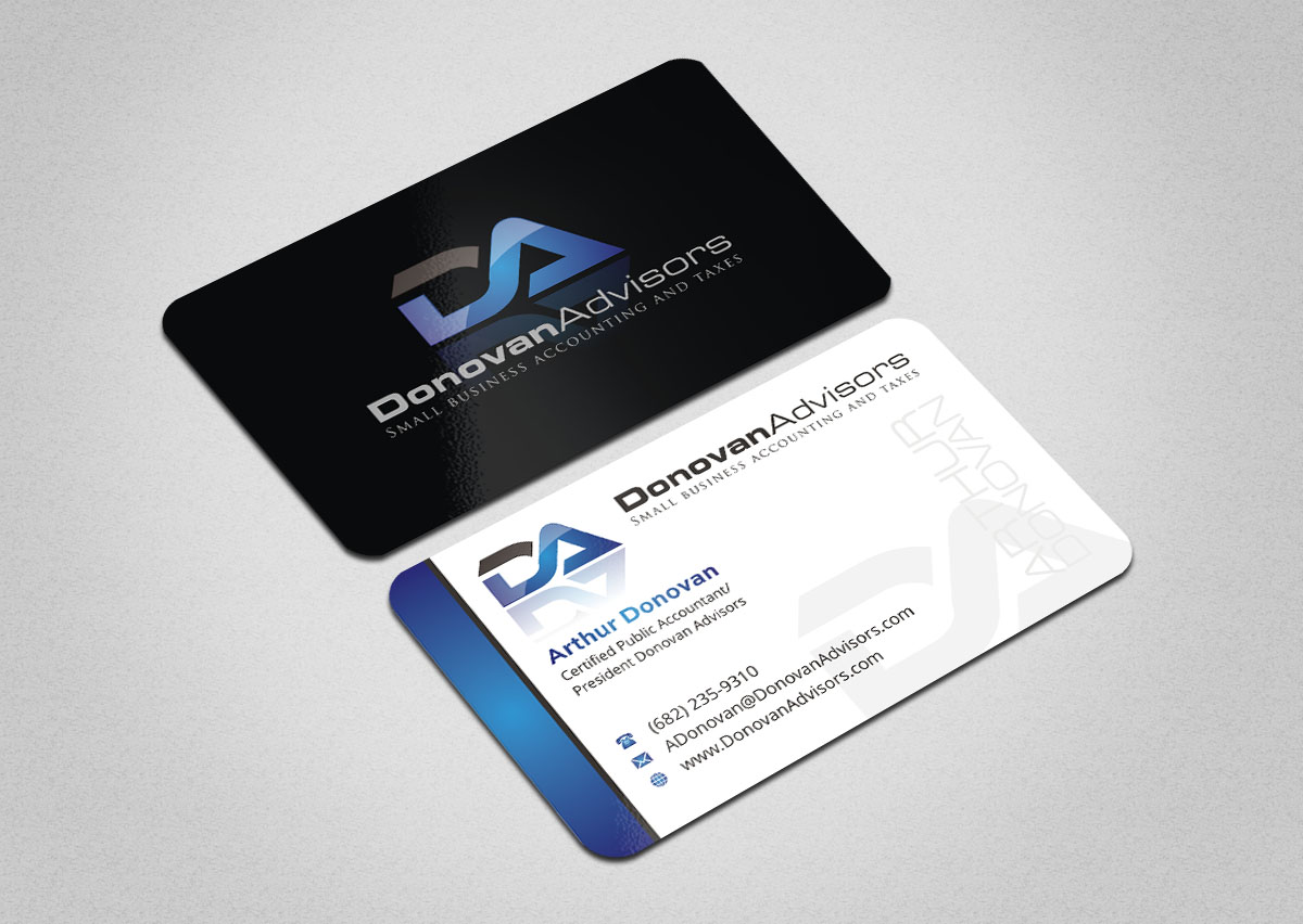 Modern, Professional Business Card Design for Arthur Donovan by ...