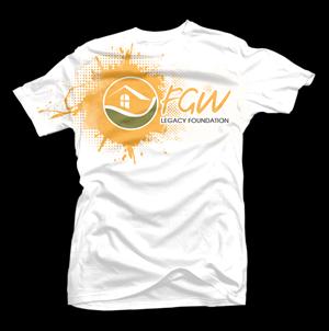 T-shirt Design by D'Mono - FGW Legacy Foundation Funky t-shirt design