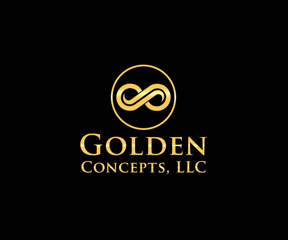traditional personable logo design for golden concepts