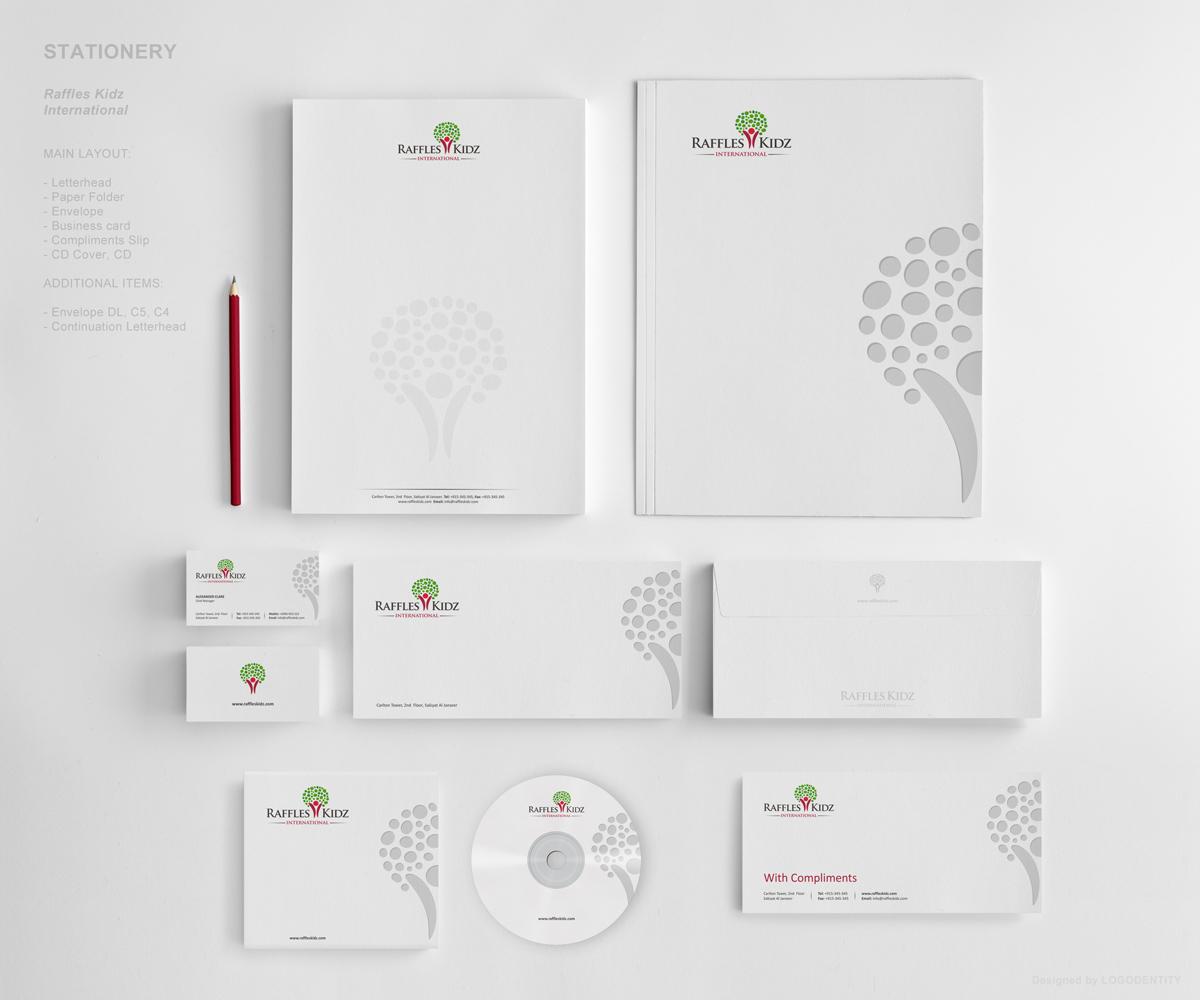 219 elegant stationery designs education stationery design project