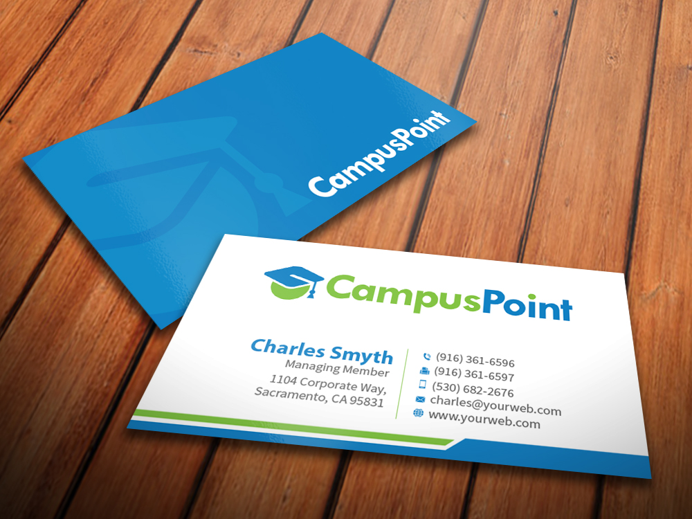 Bold modern business card design by mediaproductionart for Business cards for recent graduates