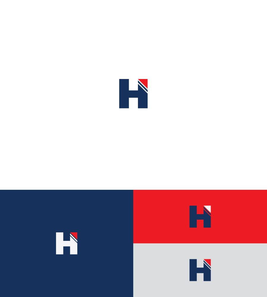 elegant playful campaign logo design for h by alin s design