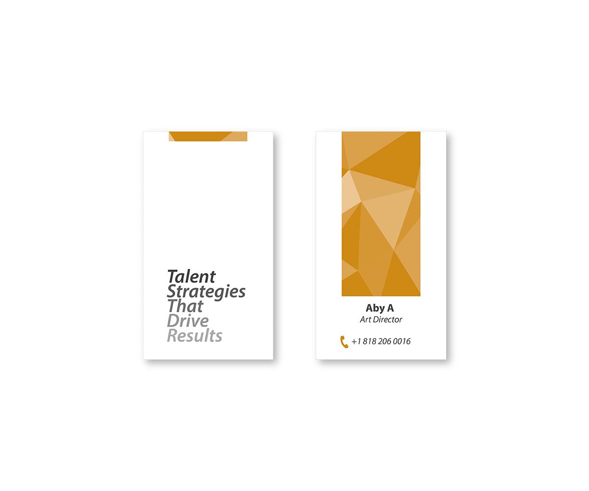 Modern, Upmarket, Museum Business Card Design for DesignCrowd by ...