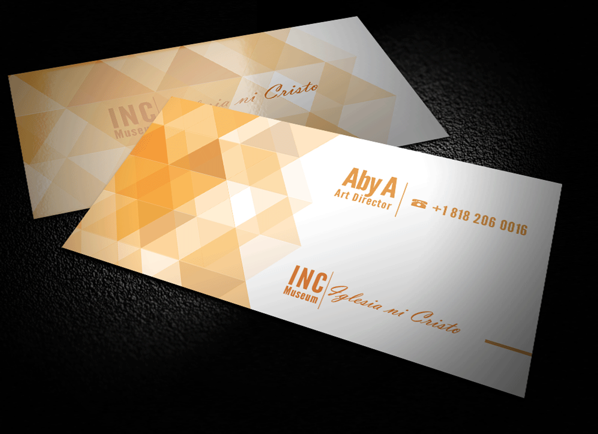 Modern, Upmarket, Museum Business Card Design for DesignCrowd by Riz ...