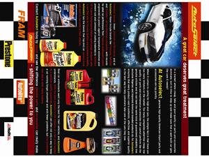 Flyer Design by Desire Design Solutions -  Auto Parts & Accessories Distributor Flyer