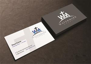 83 modern business card designs church business card design business card design by creations box 2015 for the watermark church design 5983496 colourmoves