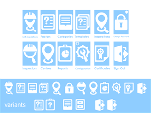 Icon Design by Dannyd - Icons for an Inspections System (codenamed Kili ...