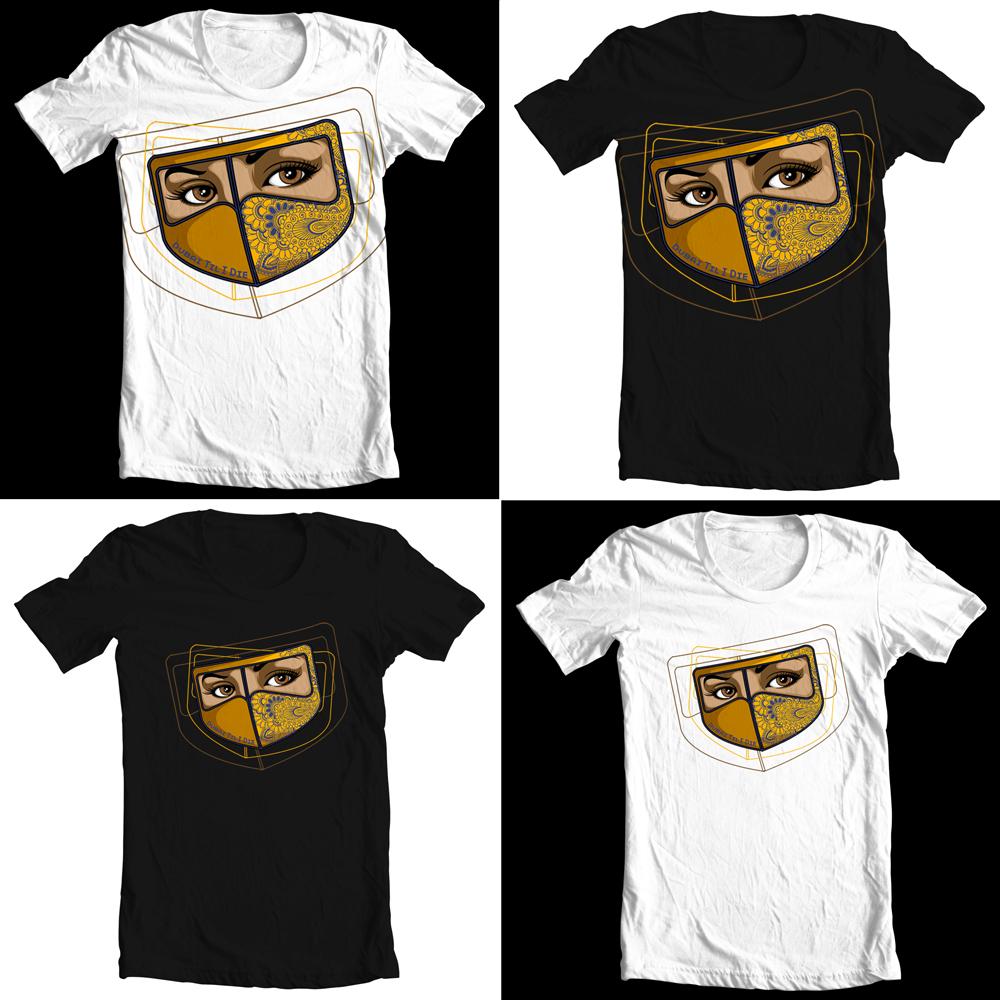 Design t shirt arabic - Feminine Upmarket T Shirt Design For Company In United Arab Emirates Design 1618959