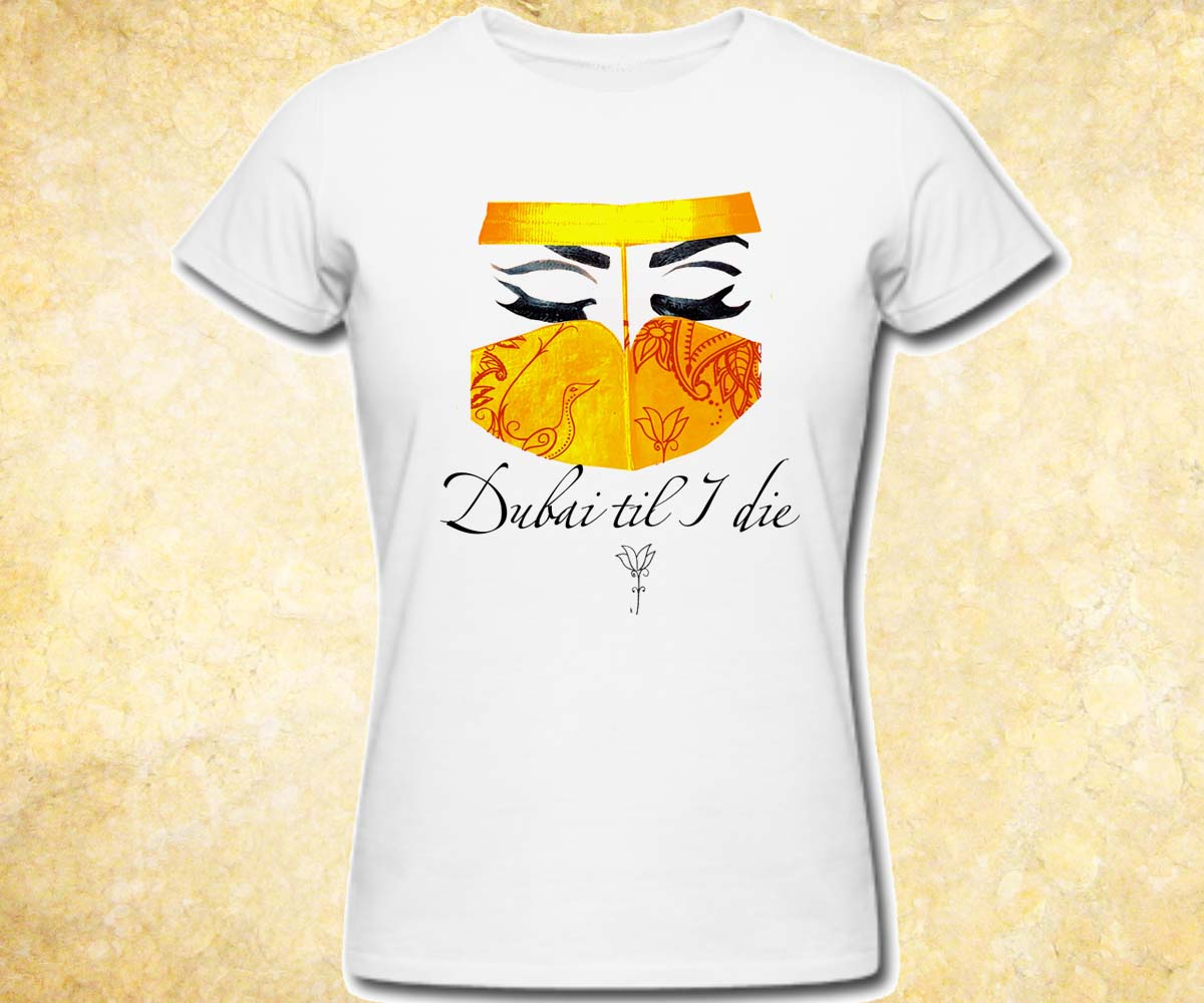Design t shirt arabic - T Shirt Design By Chuzzle For Traditional Arabic Emirati Mask T Shirt
