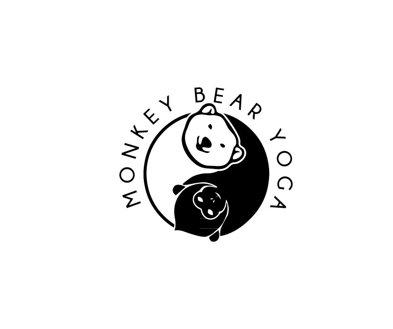 Personable Elegant It Company Graphic Design For Monkey Bear Yoga