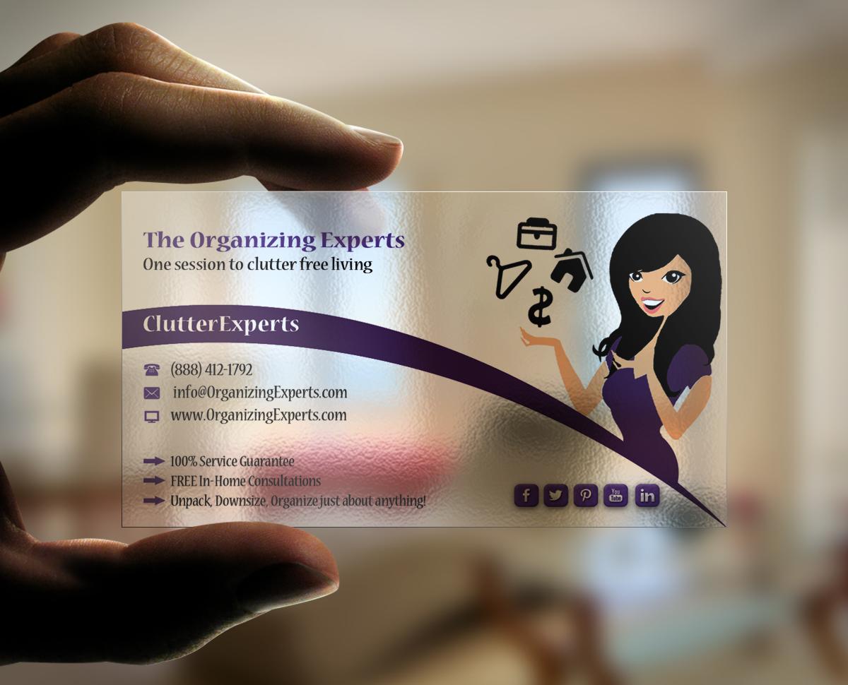 Feminine, Modern Business Card Design for The Organizing Experts ...