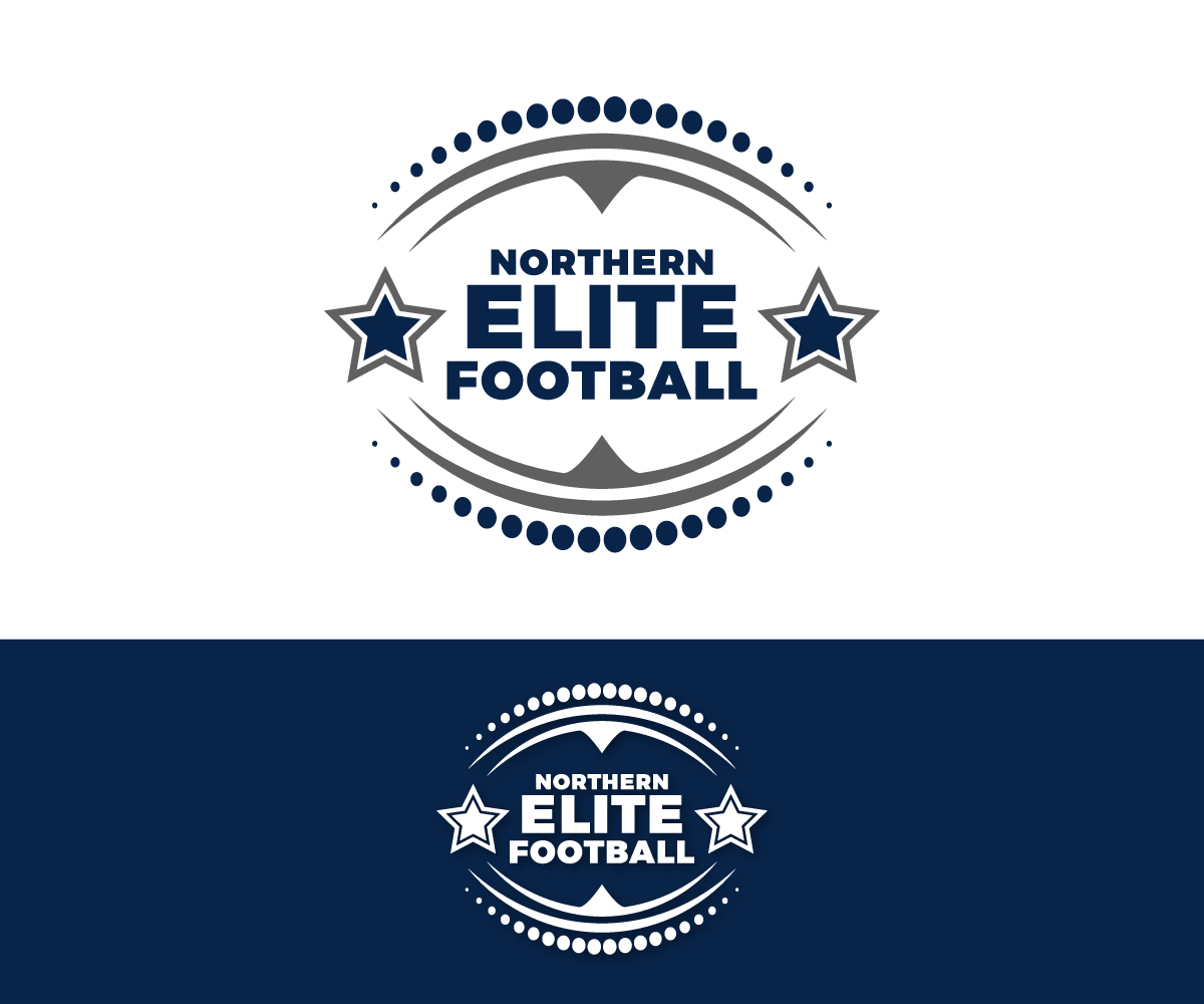Serious Modern Training Logo Design For Northern Elite Football By