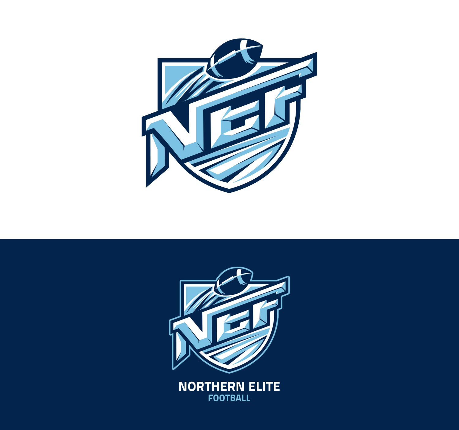 Serious modern training logo design for northern elite for Elite design